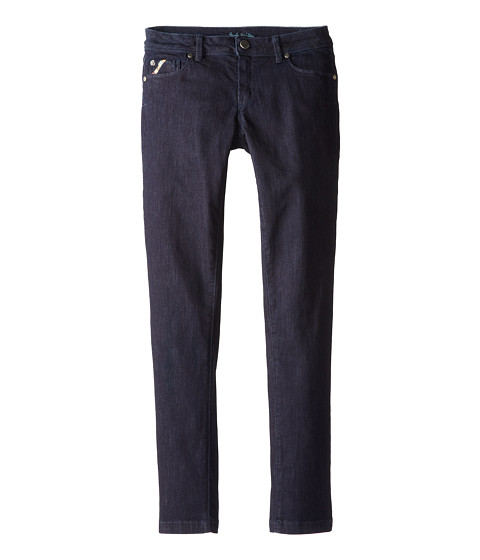 Paul Smith Junior - Denim Pant (Big Kids) (Navy) Girl's Jeans