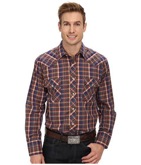 Roper - 9453 Multi Plaid With Lurex (Multi) Men