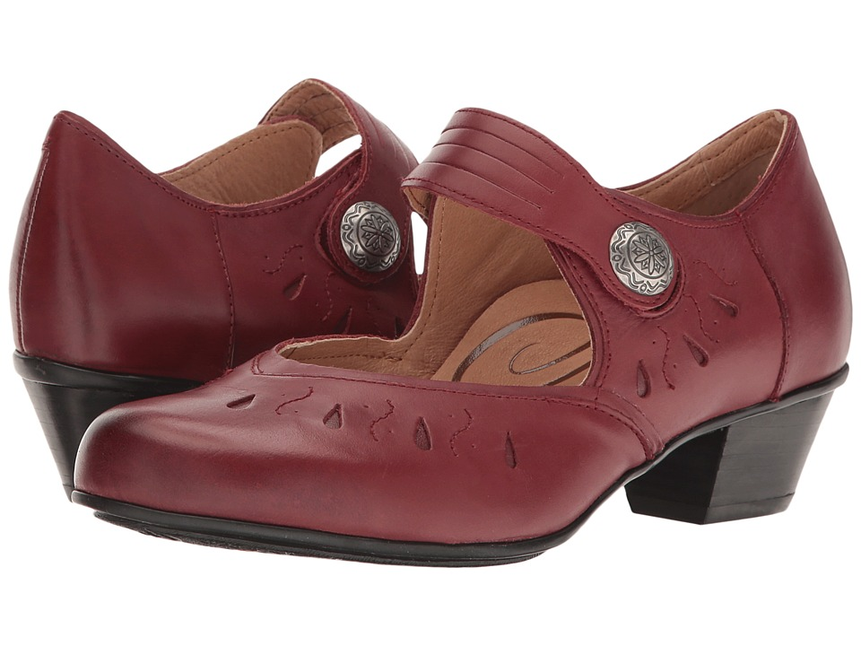 Aetrex - Rachel Mary Jane (Red) Women's Maryjane Shoes