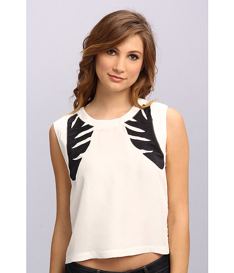 Townsen - Rattan Tank Top (White) Women's Sleeveless