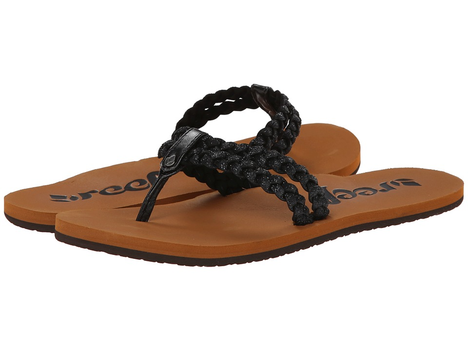 Reef - Starglitz (Black) Women's Sandals