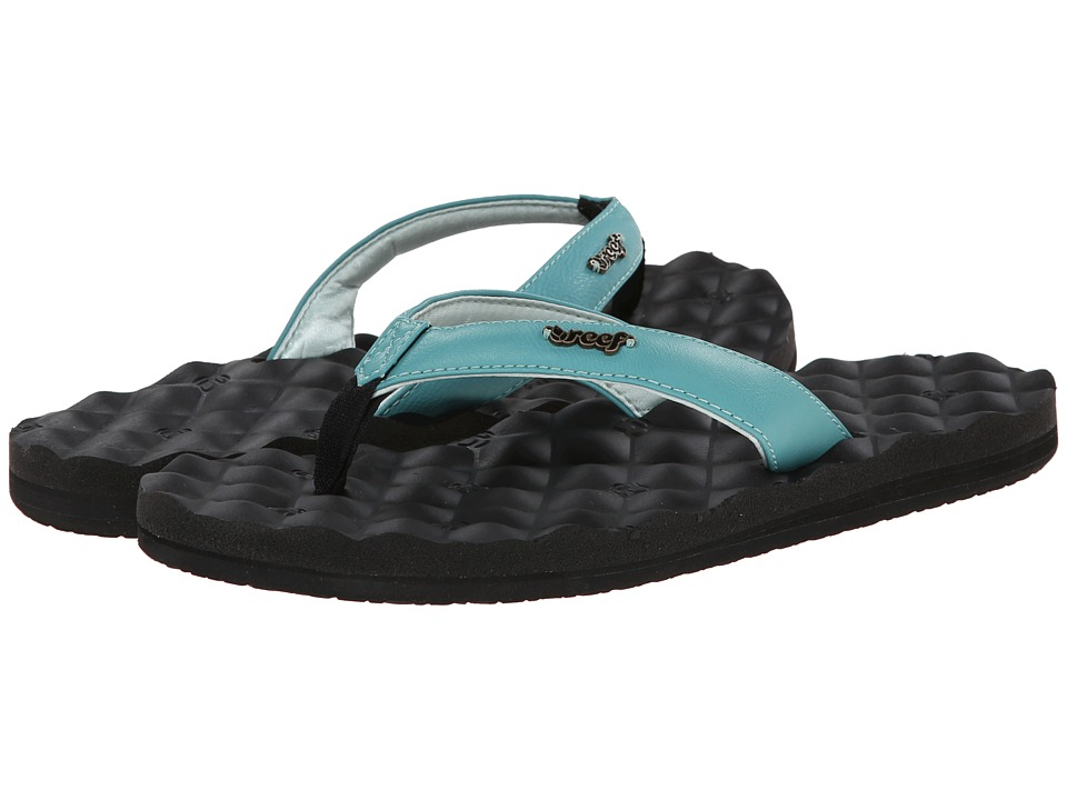 Reef - Reef Dreams (Black/Light Blue) Women's Sandals