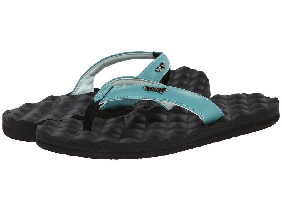 Reef - Reef Dreams (Black/Light Blue) Women's Sandals