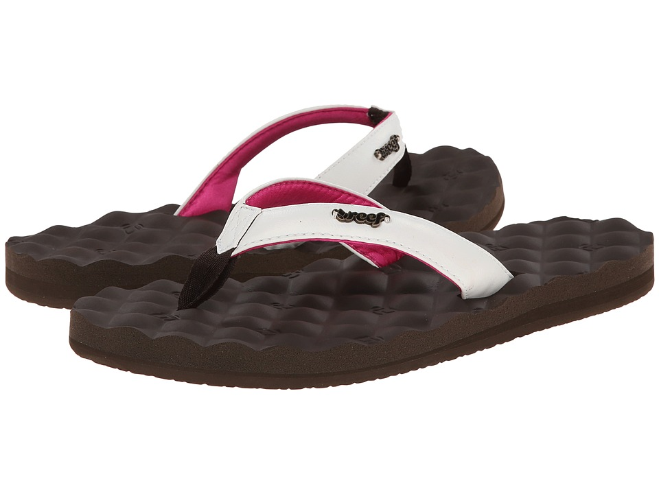 Reef Reef Dreams (Brown/White/Pink) Women