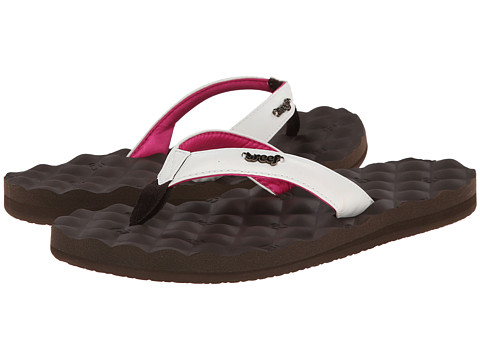 Reef - Reef Dreams (Brown/White/Pink) Women's Sandals