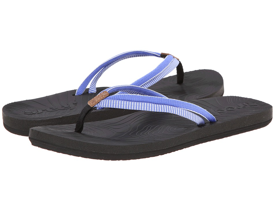 Reef - Double Zen (Black/Blue) Women's Sandals
