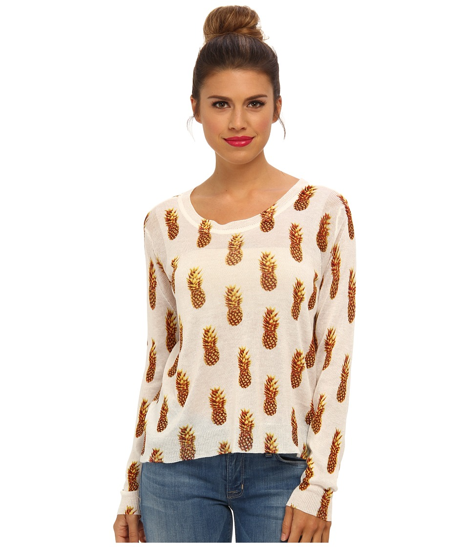 Townsen - L/S Pineapple Sweater (Bronze Pineapple) Women