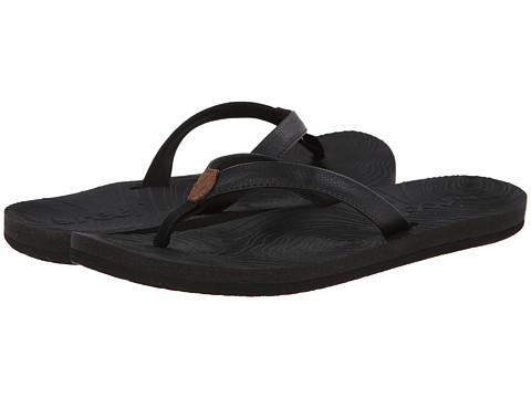 Reef - Zen Love (Black/Black) Women's Sandals
