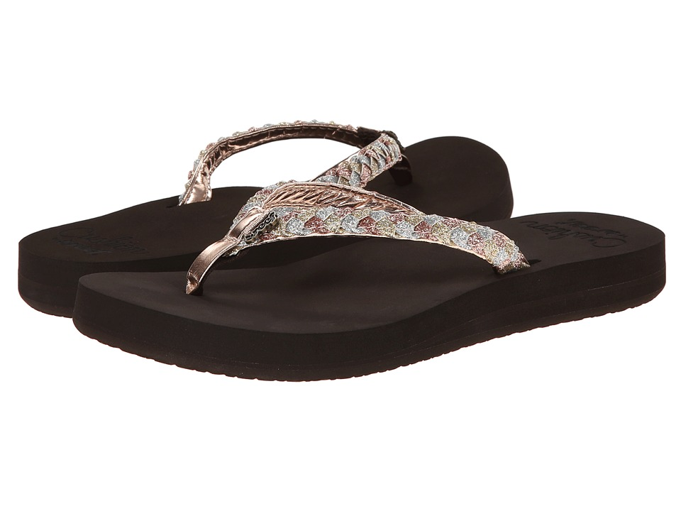 Reef - Twisted Star Cushion (Rose Gold) Women's Sandals