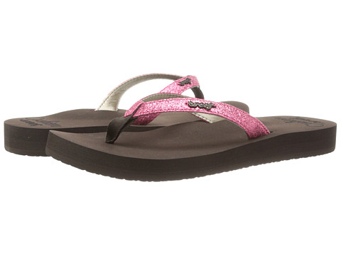 Reef - Star Cushion (Brown/Hot Pink) Women's Shoes
