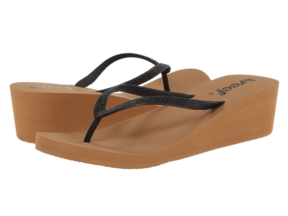 Reef - Krystal Star (Black/Tobacco) Women's Sandals