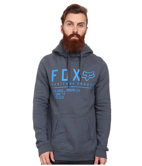 Fox - Allegiant Pullover Fleece (Dusty Blue) Men's Sweatshirt