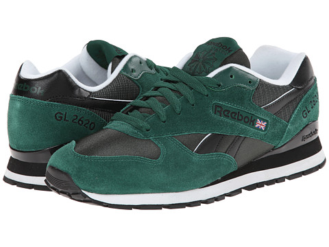 Reebok Lifestyle - GL 2620 (Dark Green/Black/White) Men's Shoes