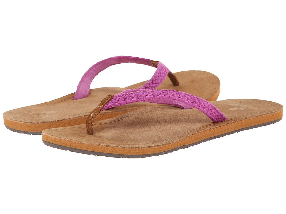 Reef - Gypsy Macrame (Purple) Women's Sandals