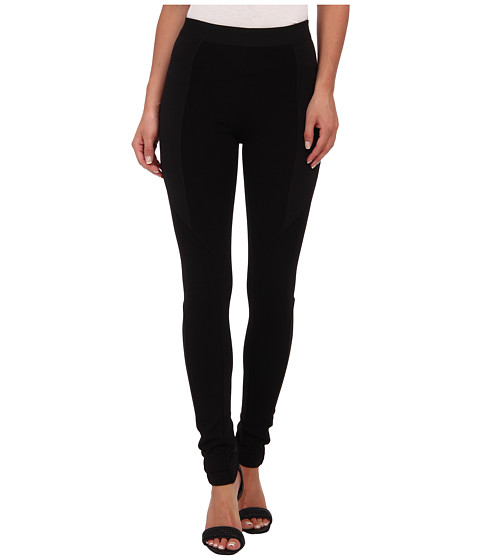 BCBGMAXAZRIA - Lewis Ponte Legging (Black) Women's Casual Pants