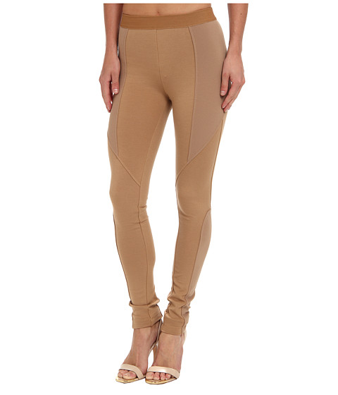 BCBGMAXAZRIA - Lewis Ponte Legging (Camel) Women's Casual Pants