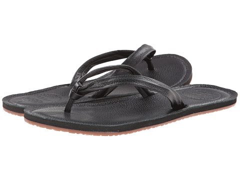 Reef - Creamy Leather (Black) Women's Sandals