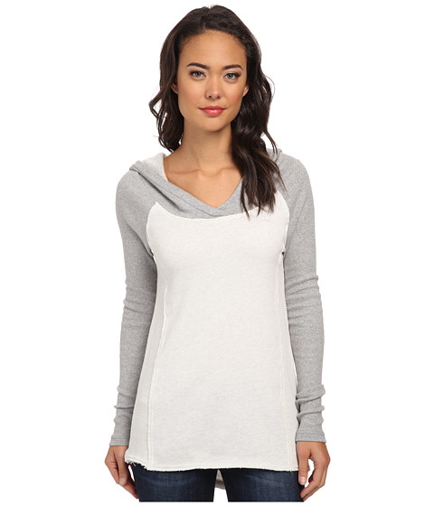 Fox - Chameleon Pullover Hoodie (Heather Pearl) Women's Sweatshirt