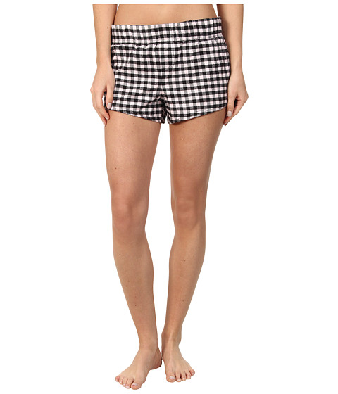 Fox - Behave Plaid Short (Pale Pink) Women