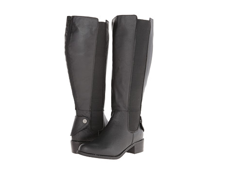 rsvp - Knox Wide Calf (Black Tumbled) Women's Wide Shaft Boots