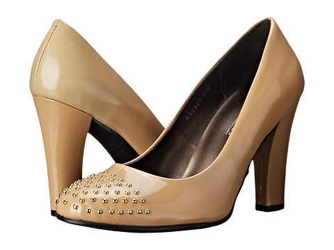 Rose Petals - Alta (Nude Patent) Women's Shoes