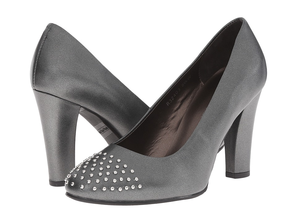 Rose Petals - Alta (Pewter Kid) Women's Shoes
