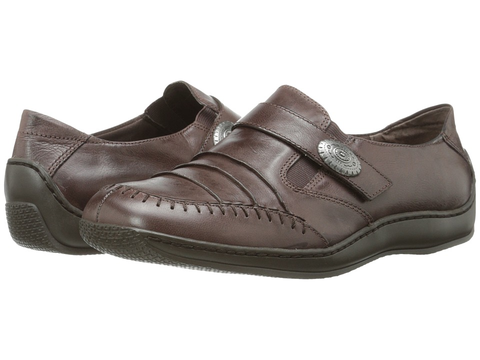 Walking Cradles - Bistro (Brown Waxy Wash Leather) Women