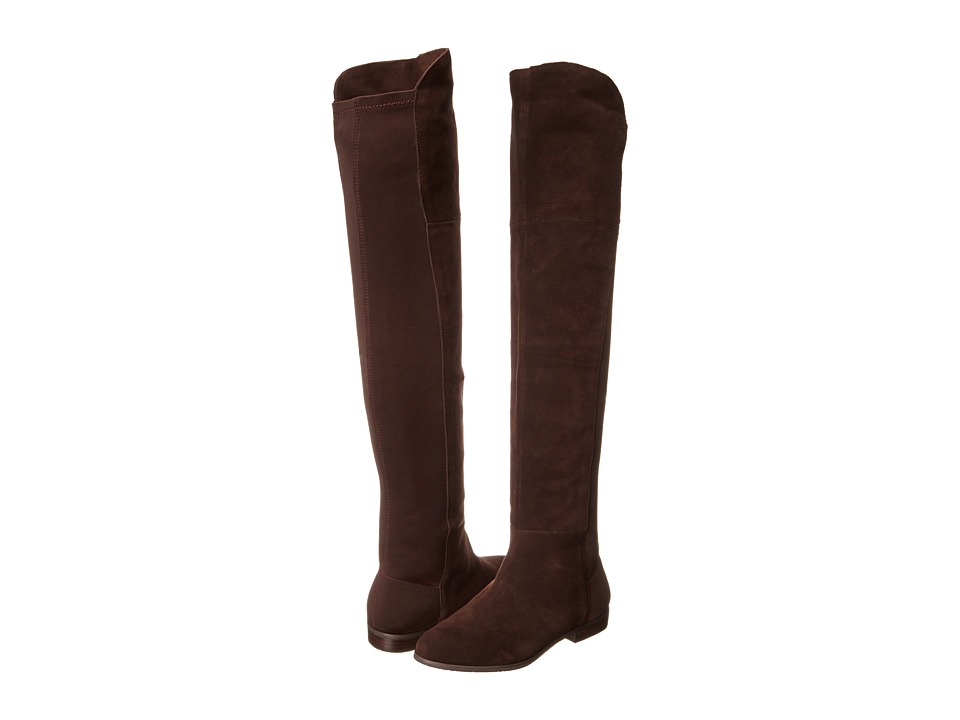 Chinese Laundry - Riley (Chocolate Split Suede) Women's Pull-on Boots