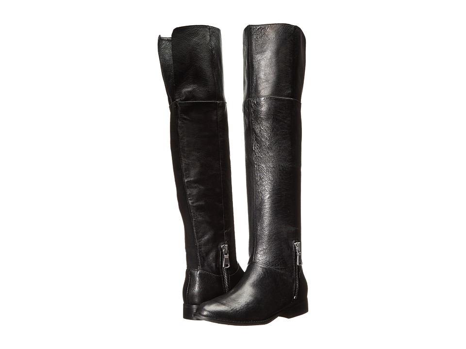 Chinese Laundry - Fawn (Black Leather) Women's Pull-on Boots