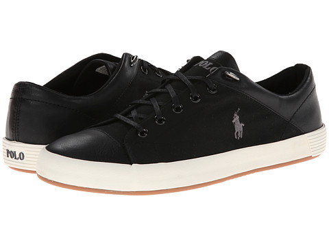 Polo Ralph Lauren - Jerom (Polo Black Canvas) Men's Shoes