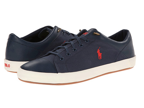 Polo Ralph Lauren - Jerom (Marine Blue Canvas) Men's Shoes