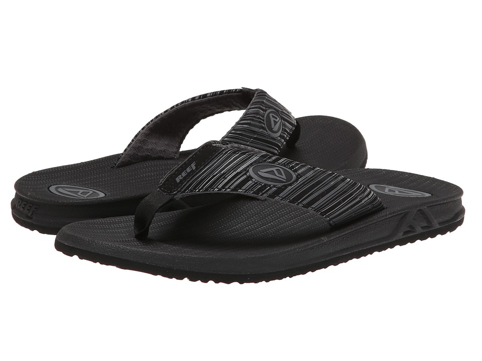 Reef - Phantom Prints (Black Lines) Men's Sandals