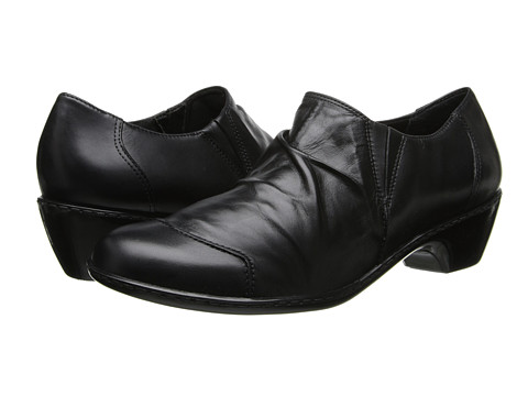 Walking Cradles - Cloud (Black New Soft Leather) Women