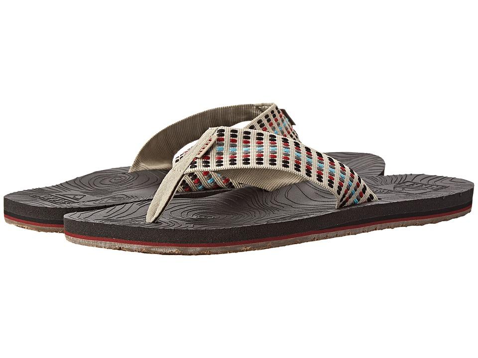 Reef - Zen Woven (Black/Tan) Men's Sandals