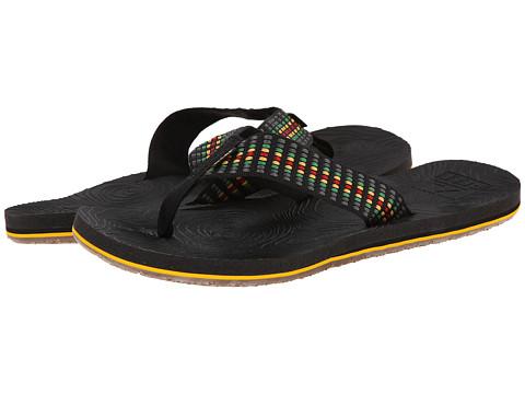 Reef - Zen Woven (Rasta) Men's Sandals