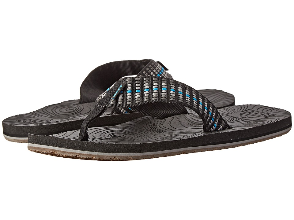 Reef - Zen Woven (Blue/Grey) Men's Sandals