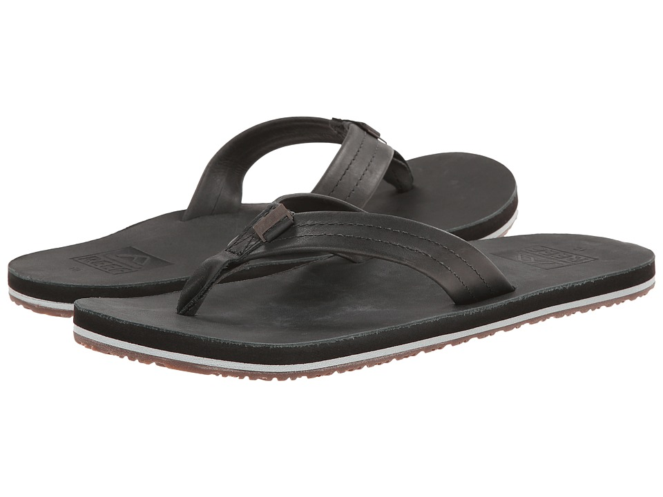 Reef - Crew (Dark Grey) Men's Sandals