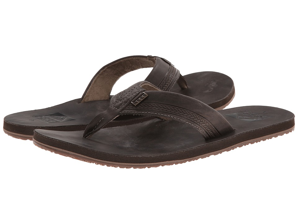 Reef - Sur (Dark Brown) Men's Sandals