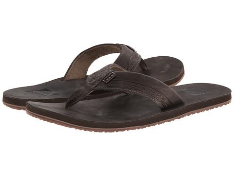 Reef - Sur (Dark Brown) Men's Sandals