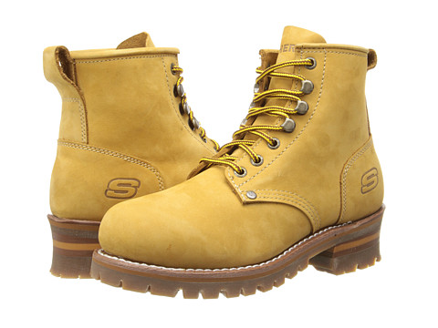 SKECHERS - Cascades (Wheat) Men's Lace-up Boots