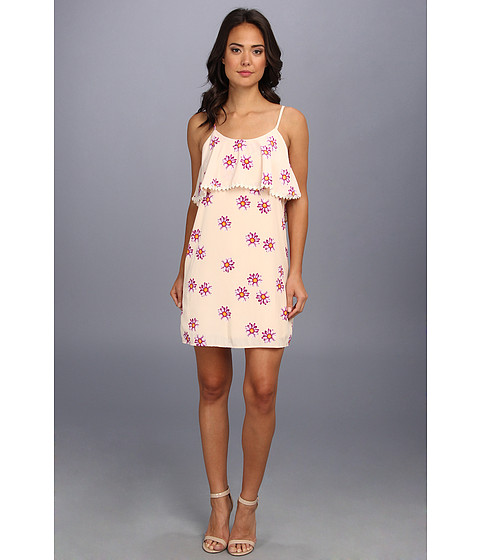 Gabriella Rocha - Daisy Flower Print Dress (Ivory) Women's Dress