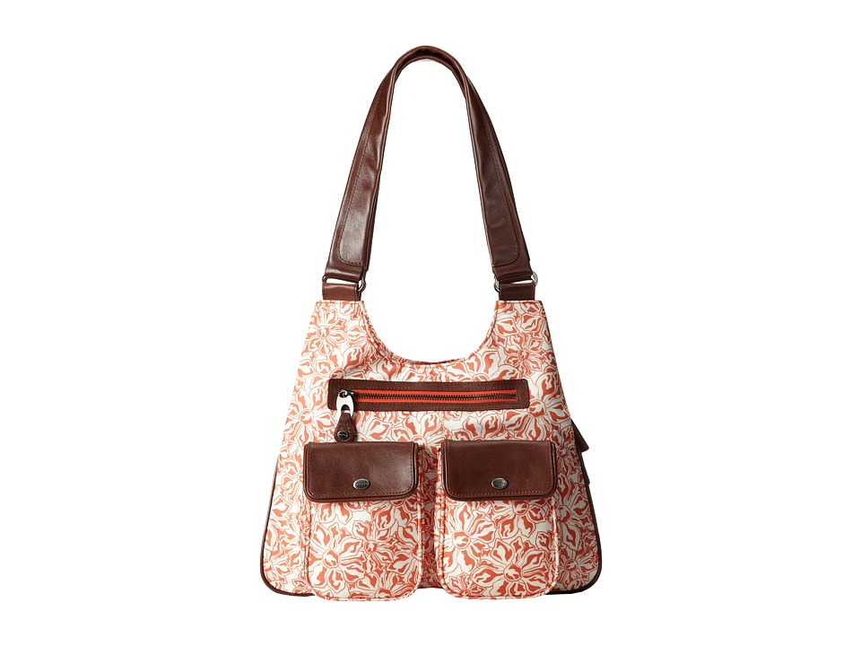 Mosey - Lauren (Orange-Aid) Shoulder Handbags