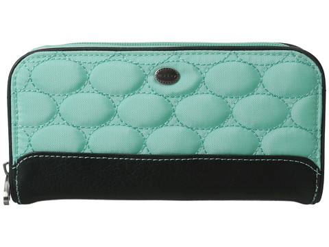 Mosey - Double Surprise (Spearmint) Checkbook Wallet