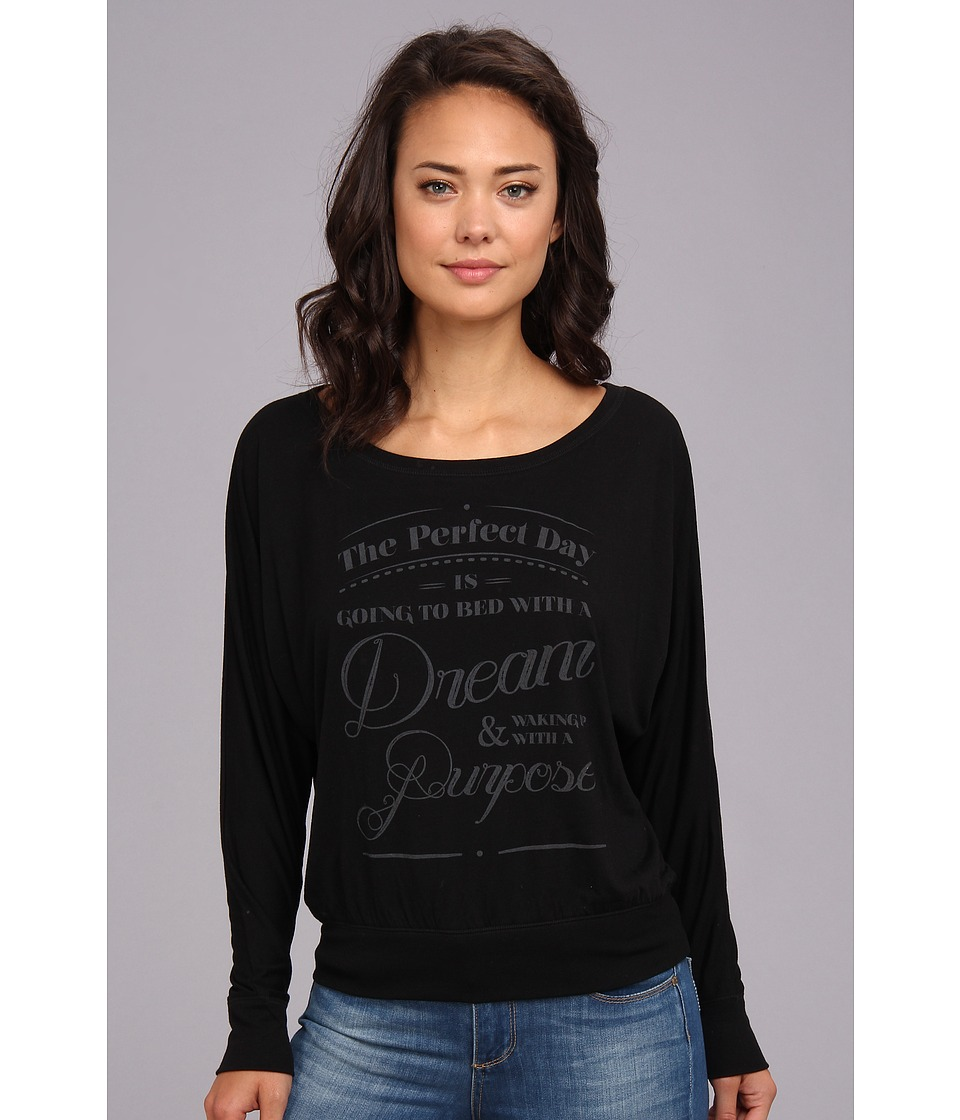Delivering Happiness - The Perfect Day Top (Black) Women