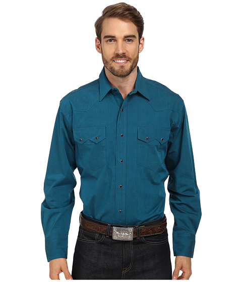 Roper - Solid With Black Fill (Green) Men