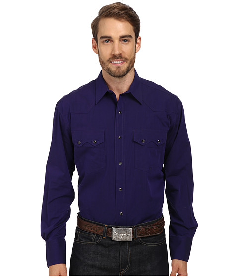 Roper - Solid With Black Fill (Purple) Men