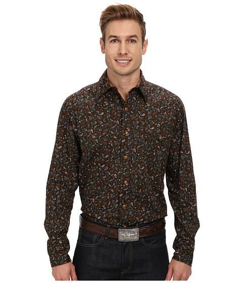 Roper - Small Paisley (Brown) Men