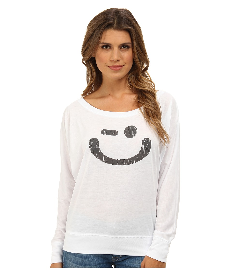 Delivering Happiness - The Winkey (White) Women's T Shirt