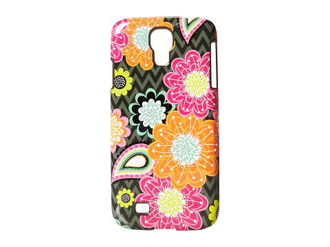 Vera Bradley - Snap On Case For Samsung Galaxy S4 (Ziggy Zinnia) Cell Phone Case
