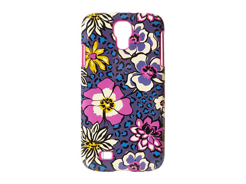 Vera Bradley Snap On Case For Samsung Galaxy S4 (African Violet) Cell Phone Case